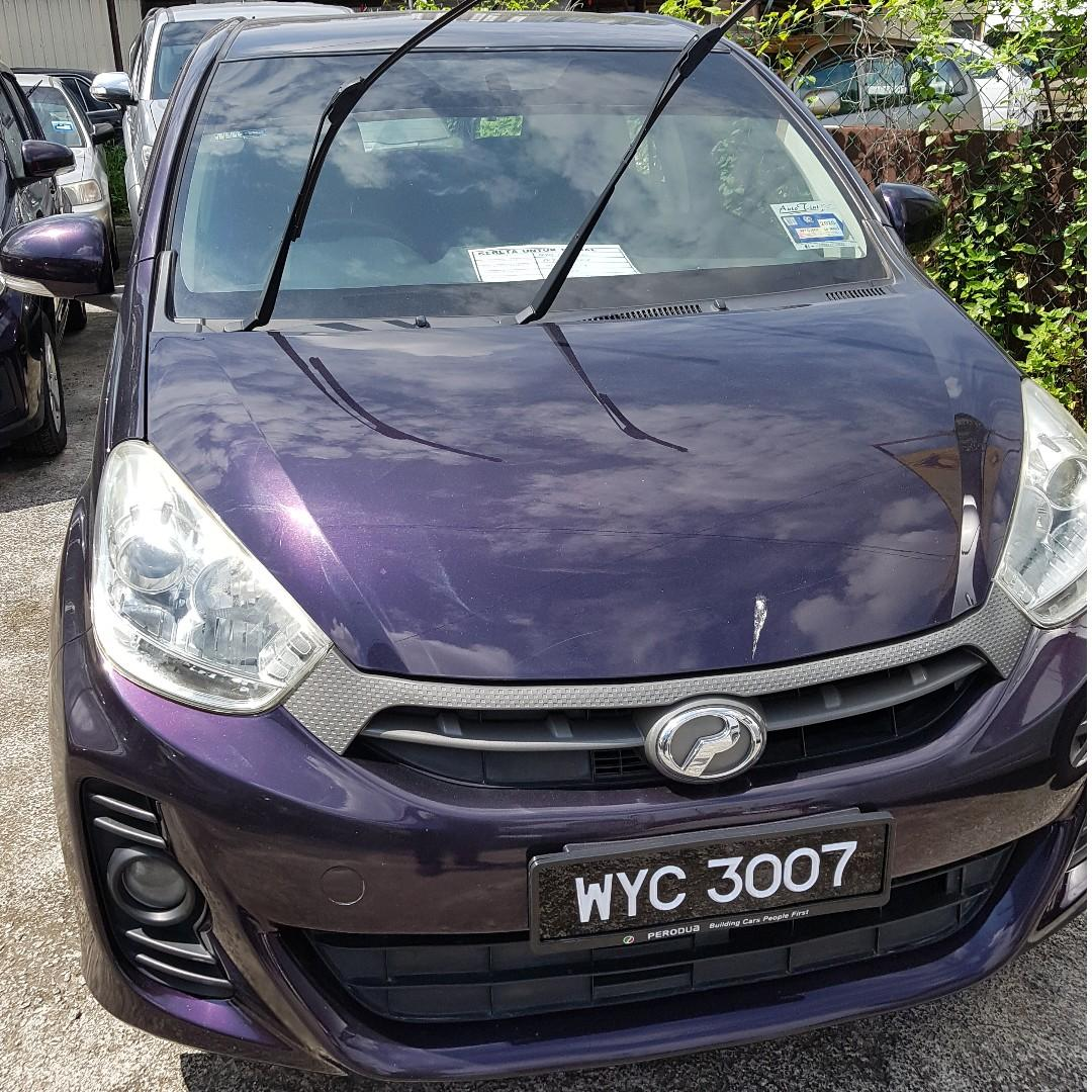 2013 PERODUA MYVI 1.3 SE HATCHBACK (ON THE ROAD) INCLUSIVE OF INSURANCE, TRANSFER FEES, HANDLING FEES, SERVICE, ROAD TAX AND INSPECTION