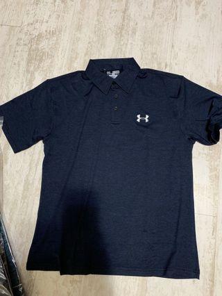 🚚 Polo衫 吸濕排汗材質 2XL偏小 深藍、黑色 要哪色請先告知