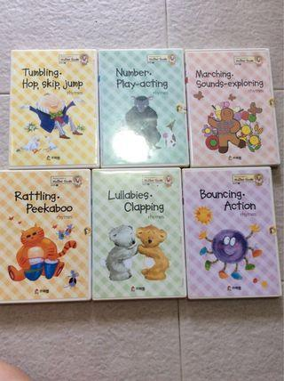 Mother goose lullabies and rhymes dvd