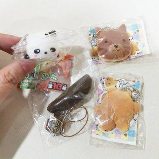 Small Squishy & Squeeze toy Set of 4