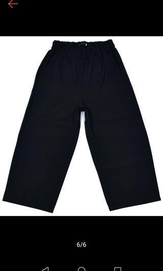 男生寬褲-全新