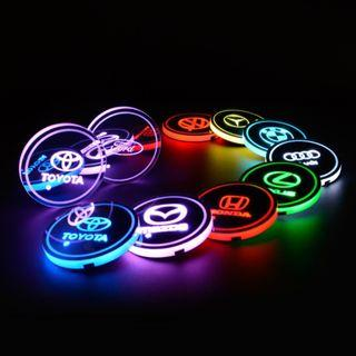 LED Cup Mat (build in battery)
