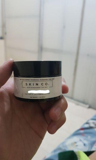 Skin.co men charcoal cleanser