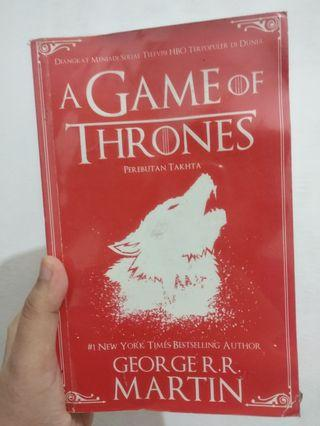 #BAPAU BUKU A GAME OF THRONES TERJEMAHAN BAHASA INDONESIA