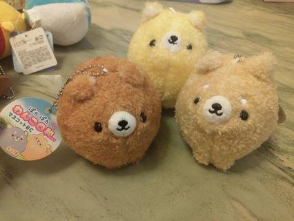 日本 可愛小狗  公仔掛飾