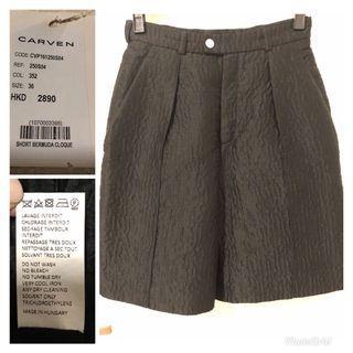 Carven Black Shorts