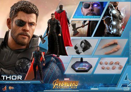 Thor & ironman mark 50 / Captain America Hot Toys 會場訂單 (一次性購買)