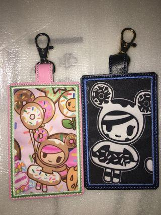 Tokidoki Jujube Donutella's Sweet Shop / Kings Court Card Holder Made from Changing Pad