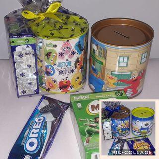 Pororo & sesame street theme goodie bags