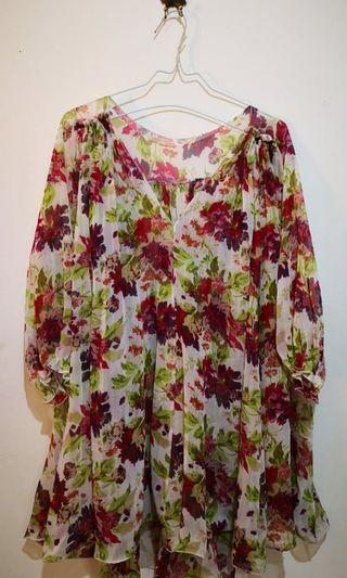 Flower Blouse #Bapau