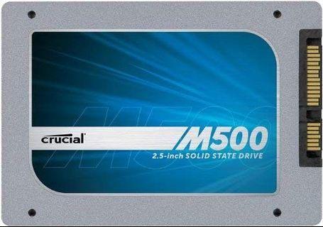 🚚 crucial ssd m500 120gb brand new