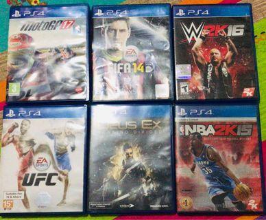Kaset PS4