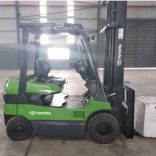TOYOTA (7FB25) 1.5Ton Battery Forklift Full RECON