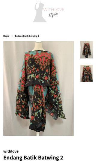 Withlovesyera Batik Batwing