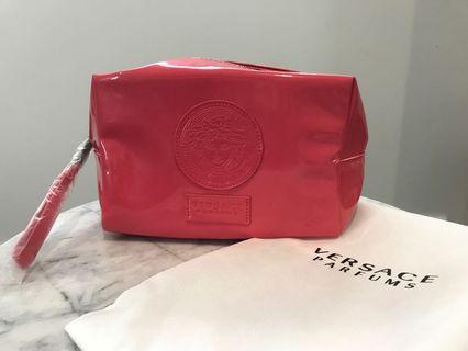 Versace perfume toiletry bag