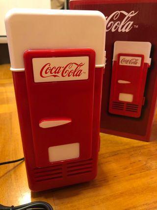 可口可樂 USB迷你雪櫃