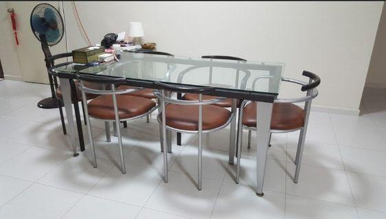 Dining Table And Chairs for free