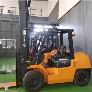 TOYOTA (7FD40) 4Ton Forklift Fully RECON