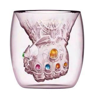 復仇者聯盟End Game 無限手套玻璃杯