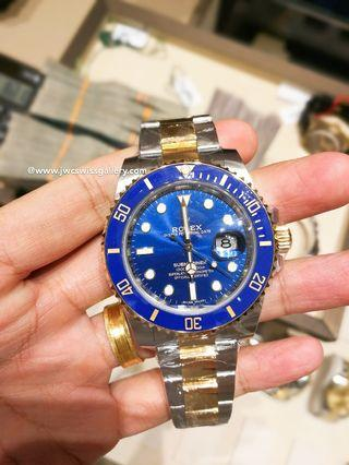 Rolex Submariner 116613LB Ceramic Brand New