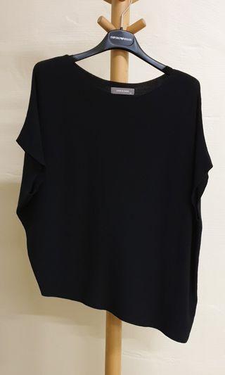 Sans & Sans XS Black Knit Top