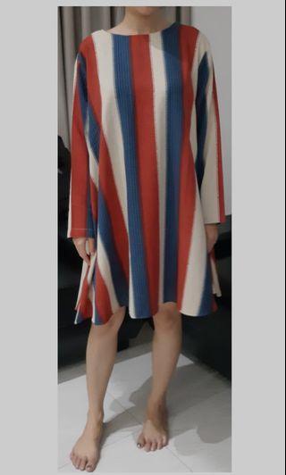 brand new! orange county dress