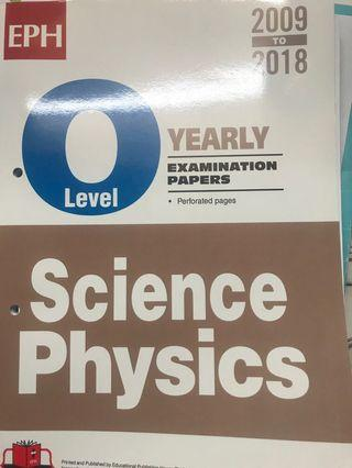 OLEVEL SCIENCE PHYSICS EXAMINATION PAPERS