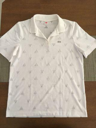 Authentic Lacoste Live white shirt