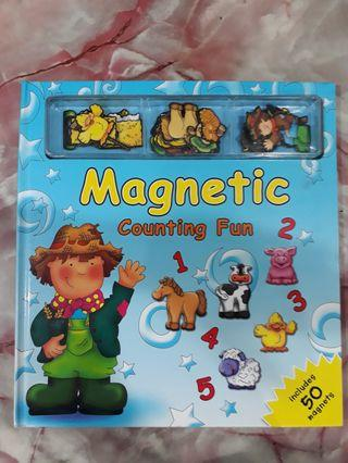 Magnetic Counting Fun Book (50 magnets)