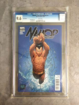 🚚 MARVEL Namor The First Mutant #1 (CGC 9.6) Variant Edition