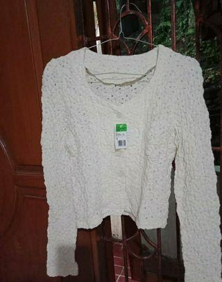 ~BARTERYUK~Cardigan white new