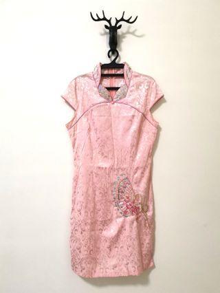Pink Cheongsam