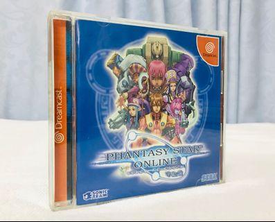 Dreamcast DC game Phantasy Star Online 夢幻之星 日版 新淨