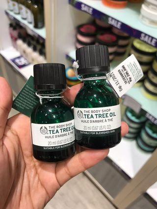 The Body Shop Tea Tree Oil