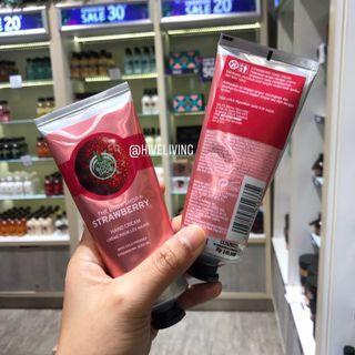 The body shop strawberry handcream 100ml