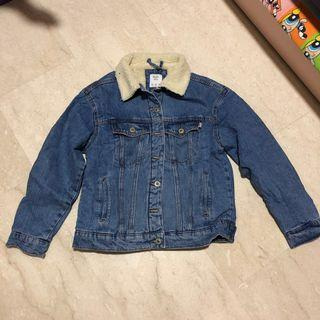 Bershka Denim Wool Jacket
