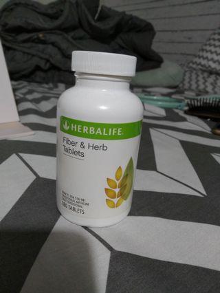 #BAPAU Herbalife fiber& herb tablets