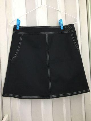 Black Skirt半截裙短裙有自帶安全褲