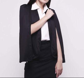 Outer Blazer Black and white