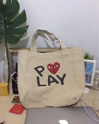 Comme des Garçons PLAY Tote Bag