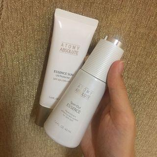 Atomy Absolute Sunscreen + Spot-out essence
