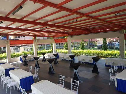 Table chairs and tentage rental