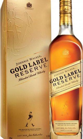 🚚 Johnnie walker gold label reserve