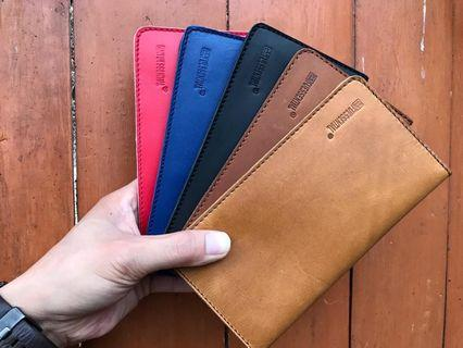 """[ Ready ] Dompet Kulit Asli + Chasing Hp From """" Fuessential """" Made in Korea"""