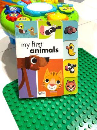 Children book my first animal