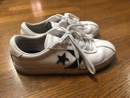 🚚 CONVERSE 經典款白球鞋