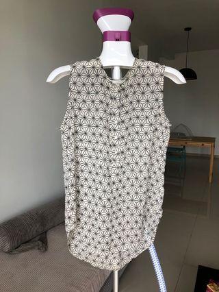 Sleveless H&M white Shirt