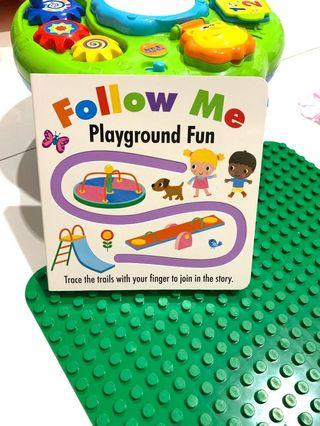 Follow me playground ( buku cerita import )