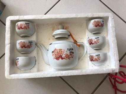 🚚 茶杯組 一壺六杯組