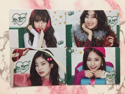 TWICE@NaYeon/JiHyo/DaHyun/TzuYu 29期 Yescard